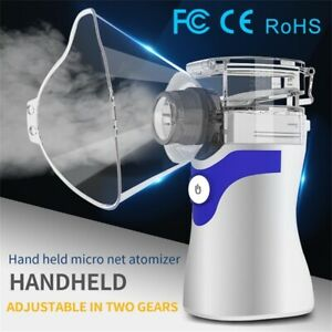 Portable Nebulize Inhaler Machine Handheld Ultrasonic Mist For Adult Child