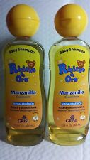 2  BABY SHAMPOO RICITOS DE ORO (PACK OF 2) 13.5 FL OZ CHAMOMILE ALL HAIR UNISEX