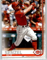 (10) 2019 Topps Update NICK SENZEL Base Card Lot (x10) Reds Rookie #US50