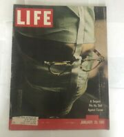 LIFE MAGAZINE JANUARY 20TH 1961 CANCER SURGEON