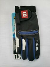 Wilson Competitor Racquetball Glove - Right Handed - Large New Nwt Blue & White