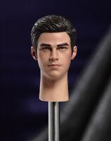 1/6 Scale Singer Justin Bieber Male Head Sculpt Fit 12'' Action Figure