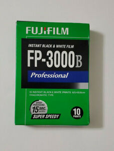 Fuji FP-3000B B/W 10 Shot Pack Film cold stored