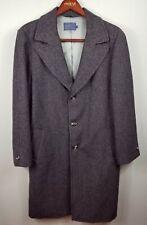 New listing Vintage Pendleton Overcoat Size 42 Long Herringbone