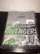 Funko Marvel Hulk Vs. Ultron Exclusive XL T-shirt Collector Corps Avengers