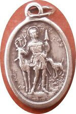 Saint St. Hubert with stag & dog Medal + Hunters + NS