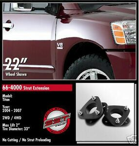 ReadyLift Leveling Kit 2004-2007 Titan/Armada 2WD/4WD 66-4000