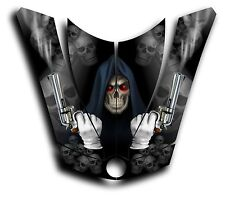 CAN-AM SPYDER RS GS HOOD DECAL GRAPHICS GRIM REAPER REVENGE BLACK