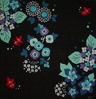 Furoshiki Wrapping Cloth Cotton Japanese Fabric 'Goldfish and Hydrangea' 50cm