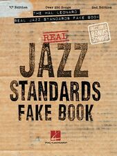 The Hal Leonard Real Jazz Standards Fake Book 2nd Edition Sheet Music  000240161
