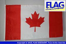 DRAPEAU CANADA 90x60cm - DRAPEAU CANADIEN 60 x 90 cm Polyester léger - Neuf - Ha
