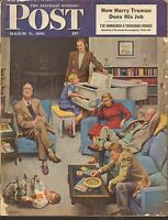 MARCH 3 1951 SATURDAY EVENING POST magazine FAMILY PARTY