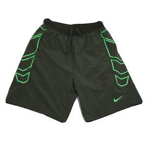 Nike Men's Olive Green Flex Woven Pro Training Shorts Size Medium 684825