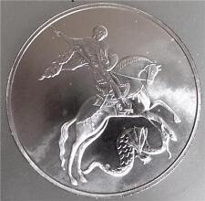 Rusia 2010 San Jorge el Victorious plata moneda del lingote 1 OZ 3 rublos