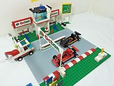 LEGO City / Town set# 6337 - Fast Track Finish, race car pit stop, EUC!