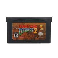 Donkey Kong Country 2 GBA Game Boy Advance Cartridge US English
