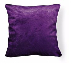 Mn117a Purple Crushed Velvet Style Cushion Cover/Pillow Case *Custom Size*