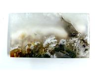 37.6ct Natural Fine Moss Agate Cabochon Landscape Agate Untreated Unheated