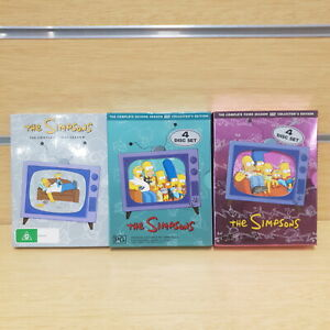 The Simpsons The Complete Seasons 1,2,3 Collectors Edition DVD Set