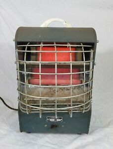 Vtg Retro Lasalle Portable Electric Space Heater Model 195 K1 Works Great