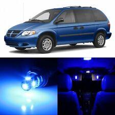 20 x Ultra Blue Interior LED Lights Package For 2001- 2007 Dodge Caravan +TOOL