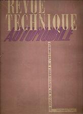 REVUE TECHNIQUE AUTOMOBILE 20 RTA 1947 ETUDE DODGE 4X4 T214