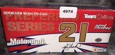 1:24 TEAM CALIBER PREFERRED 2006 #21 MOTORCRAFT KEN SCHRADER SEALED (4974)