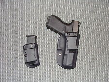 Kydex IWB Right Hand Glock 19/23 Holster  With OWB Mag Carrier
