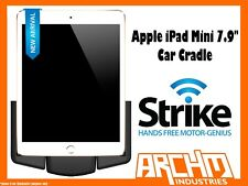 "STRIKE ALPHA APPLE IPAD MINI 7.9"" CAR CRADLE - BUILT-IN FAST CHARGER SECURE"