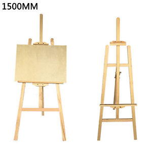 NEW! 5ft 1500mm Wooden Pine Tripod Studio Canvas Easel Portables Art Stand