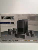 (N04461) Hauss HS-7 1500WATT 5.1 Home Theater System