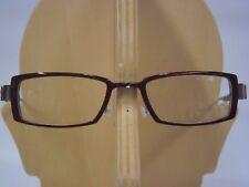 Original Lindberg Acetat Brillenfassung 1209 - AA53 (dunkelrot / silber) 51□20