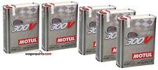 Aceite Motor MOTUL 300V Power 5W40, 10 Litros  (Especial Tuning Rally Carreras)