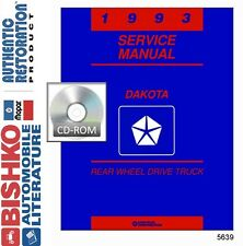1993 Dodge Truck Dakota Shop Service Repair Manual CD