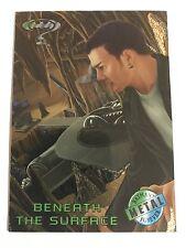1995 DC Comics Batman Forever Metal Trading Card #75 Beneath The Surface