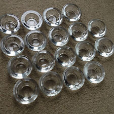 Lot 18 Clear Glass Candle Holders Tea Light Wedding Party Centerpiece