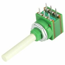 100K Dual Gang LIN linear Potentiometer 16mm PCB Mount