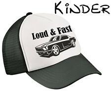 Kinder Trucker Mesh Cap Loud & Fast Rockabilly Rock n Roll Oldschool Kappe junge