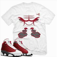 Bull Unisex T Shirt to Match Air Jordan 13 Retro Gym Red Flint Grey