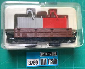 Faller Hit Train 3789 Lowside Wagon. Mint,boxed