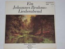 Fischer-Dieskau - Demus -Ein Johannes Brahms Liederabend- LP Eterna black
