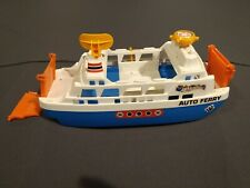 Auto Ferry Boat Road Mates - Tomy for 1/64 Matchbox Hot Wheels toy cars Japan