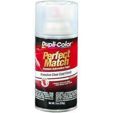 Dupli-Color Perfect Match 8oz Clear Top Coat Automotive Aerosol Spray Car Paint
