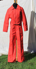 Jean Claude Killy Snow Ski Coat Bibs Ski Suit Womens Red Vintage
