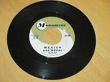 BOB MOORE - MEXICO  B/W - HOT SPOT VG+  TOP 10 IN 1961  GREAT TUNE