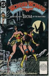 Wonder Woman #47 DC Comics October Oct 1990 (VF)