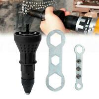 Rivet Nut Gun Adaptor for Cordless Drill Electric Riveting Riveter Insert Tool