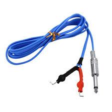 Tattoo Machine Power Supply Supper Flex Tattoo Clip Cord Cable Blue