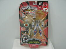 Power Rangers Jungle Fury Beast Morphin Rhino Ranger Figure Toy 2008 Bandai New