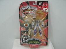 Power Rangers Jungle Fury Beast Morphin Rhino Ranger Figure Toy 2008 Bandai New